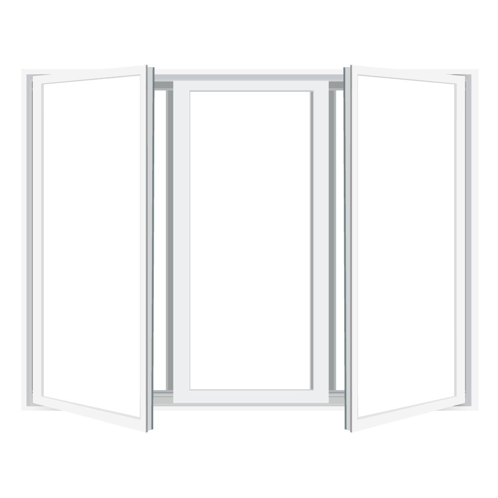 3-Lite Casement Equal Lite 0979