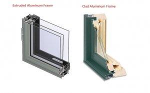 extruded-aluminum-frame-vs-clad-aluminum-frame