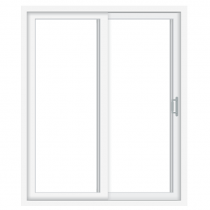 2 Panel Sliding Patio Door Wood-Ultrex