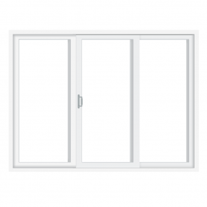 3 Panel Sliding Patio Door Wood-Ultrex