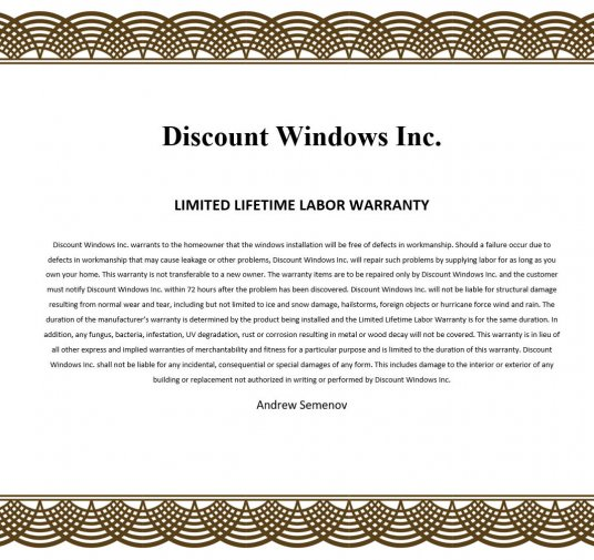 5 Facts About Window Replacement Warranty - Discount Windows MN